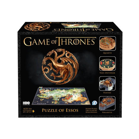 Puzzle 4D Game of Thrones Essos - 4D051002