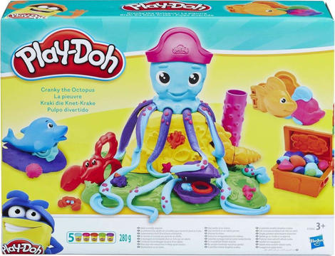 Play-Doh Cranky The Octopus-Το Χταπόδι - E0800