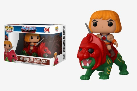 POP! Φιγούρα Master of the Universe He-Man on BattleCat  #84#