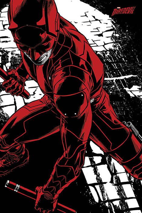 Daredevil TV Series (Fight) - 61 x 91.5cm