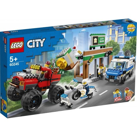 City Police Ληστεία Monster Truck Της Αστυνομίας - 60245