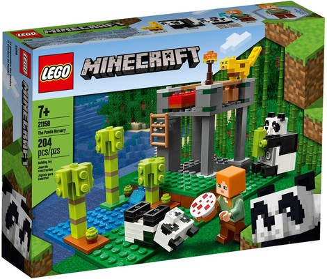 Lego Minecraft  The Panda Nursery (21158)
