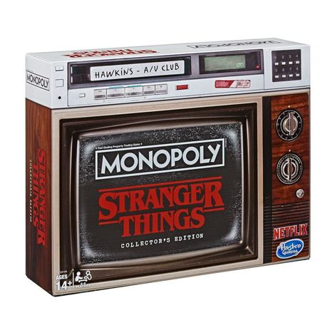 Monopoly Collectors Edition - Stranger Things Board Game -HASE8194102