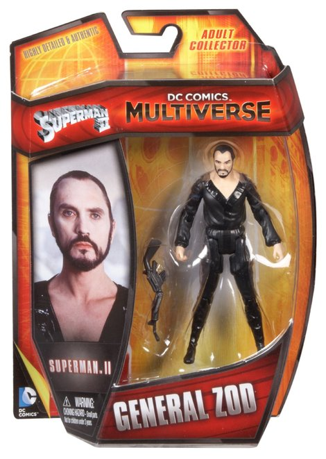 DC Comics Multiverse Superman II Movie General ZOD Action Figure