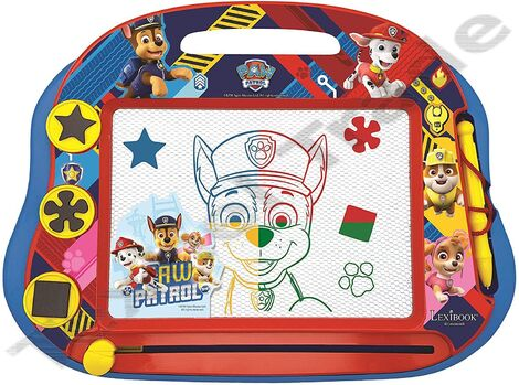 Lexibook Πίνακας Γράψε-Σβήσε Paw Patrol Magnetic Multicolor Drawing Board With Accessories A5 Format - CRPA550