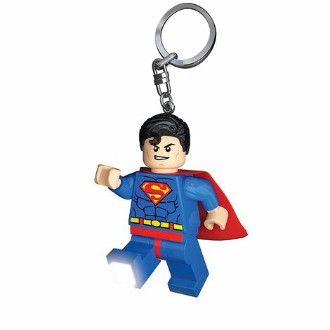 LEGO DC Super Heroes Superman key light Μπρελόκ