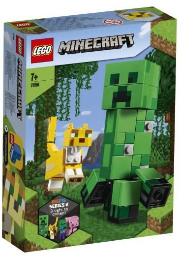 LEGO Minecraft BigFig Creeper & Ocelot (21156)