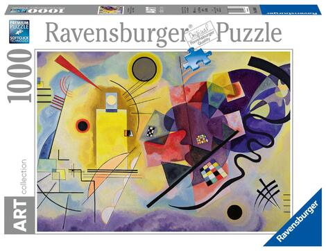 Ravensburger Puzzle 1000 Τεμ Kandinsky Yellow Red Blue (05-14848)