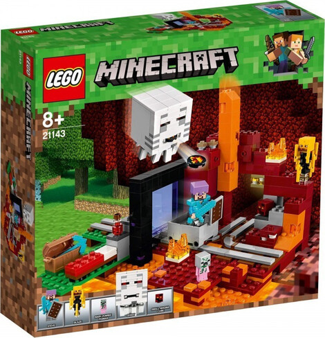 LEGO Minecraft The Nether Portal - 21143