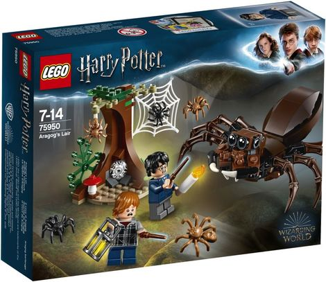 LEGO Harry Potter Aragog's Lair (LE75950)