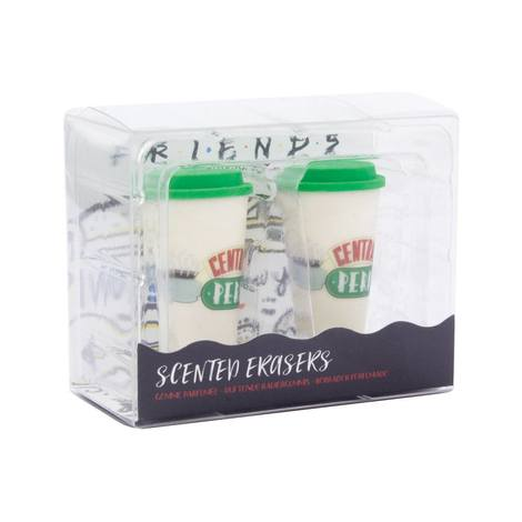 Friends Scented Erasers 2-Pack Central Perk Coffee - PP6448FR