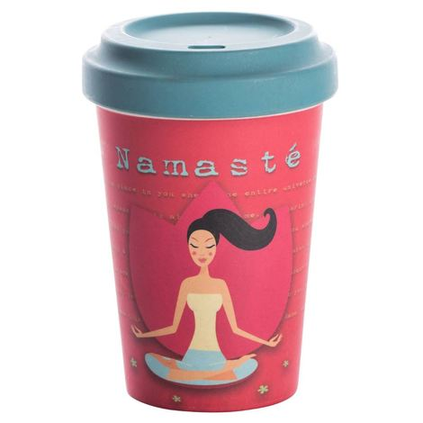 BAMBOO CUP YOGA LOVE - (BCP206)