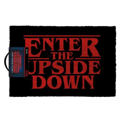 "Stranger Things - ""Enter the Upside Down"" Door Mat - GP85287"