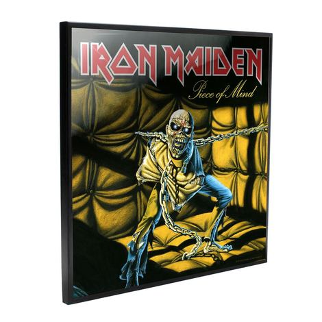 Iron Maiden Crystal Clear Picture Piece of Mind 32 x 32 cm - NEMN-B4391M8