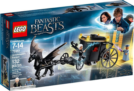 LEGO Harry Potter Grindelwald's Escape -75951