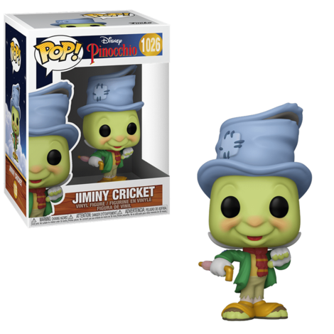 POP! Disney: Pinocchio – Jiminy Cricket #1026#
