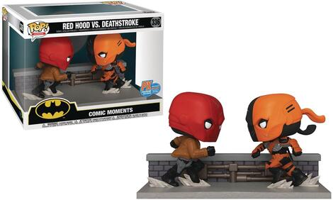 POP! Comic Moments: DC Heroes - Red Hood vs Deathstroke - Special Edition #336#