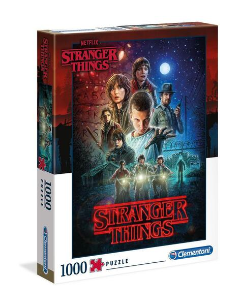 Puzzle  1000 pieces - Stranger Things Season 1 - CLMT39542