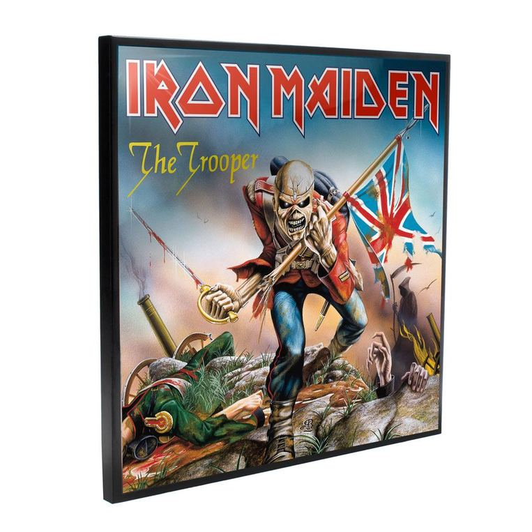 Iron Maiden Crystal Clear Picture The Trooper 32 x 32 cm - NEMN-B4394-M8