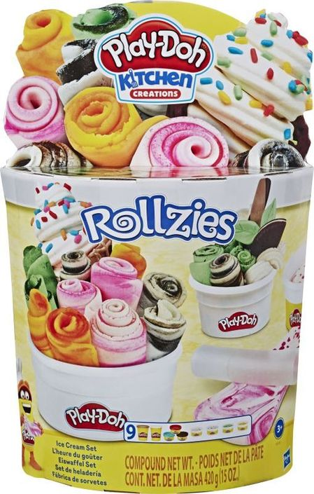 Play-Doh Rollzies Ice Cream Playset - E8055
