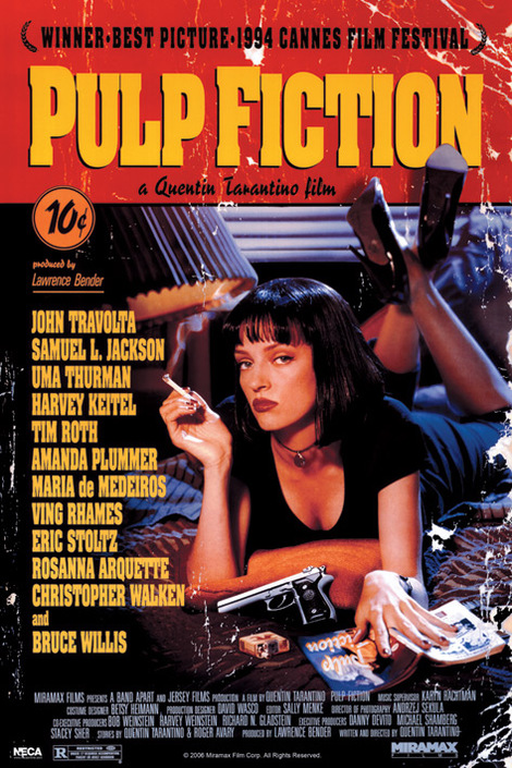 Pulp Fiction (Cover) - 61 x 91.5cm