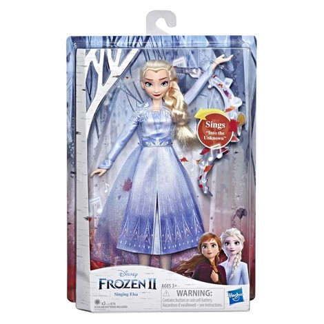 Disney Frozen II Singing Doll 2 Σχέδια - E5498