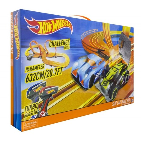 KiDZ TECH Hot Wheels Αυτοκινητόδρομος Slot Car X 2 - 6.32M 83129