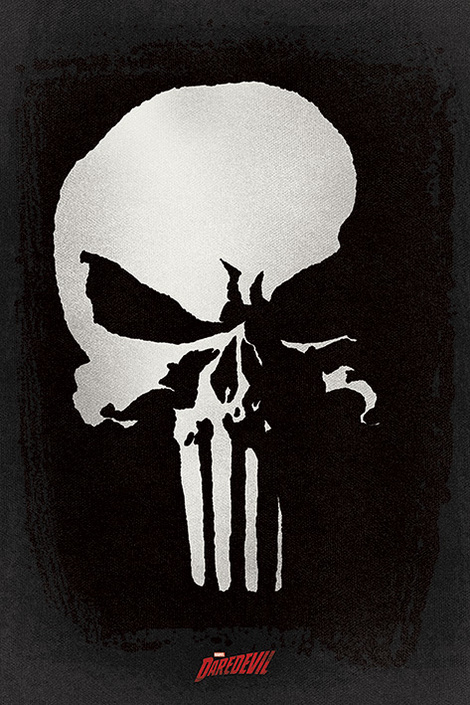 Daredevil TV Series (Punisher) - 61 x 91.5cm