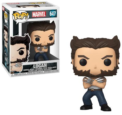 POP! Marvel: X-Men 20th Anniversary - Wolverine (in Tank Top)  Bobble-Head #647#