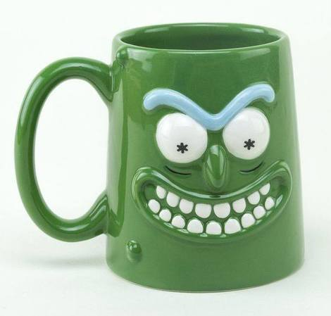 Rick and Morty 3D Mug Pickle Rick - GYE-MGM0013