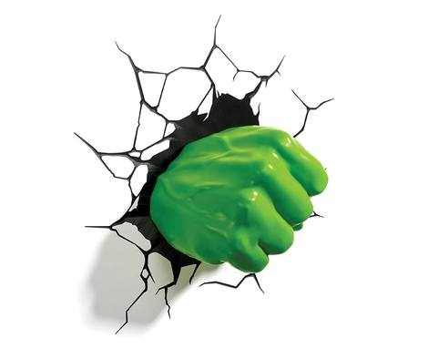 Marvel 3D LED Light Hulk Fist - 3DL49467