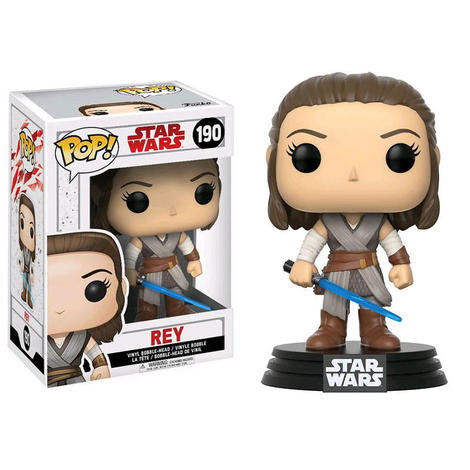 POP Φιγούρα Vinyl Rey with Lightsaber (Star Wars: The Last Jedi) #190