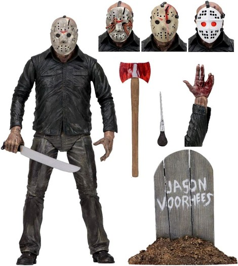 Φιγούρα Ultimate Jason Voorhees (Friday the 13th: Part 5) – NEC39709