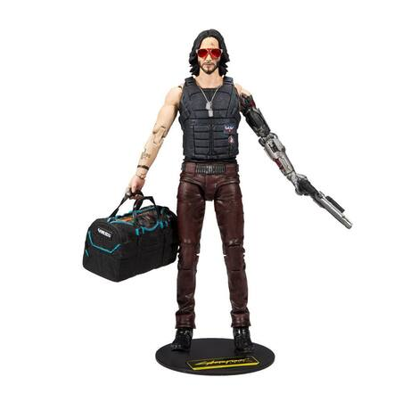 Cyberpunk 2077 Action Figure Johnny Silverhand Variant 18 cm - MCF13504-6