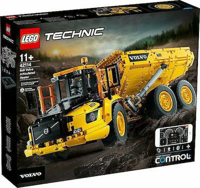 Technic 6x6 Volvo Articulated Hauler - 42114