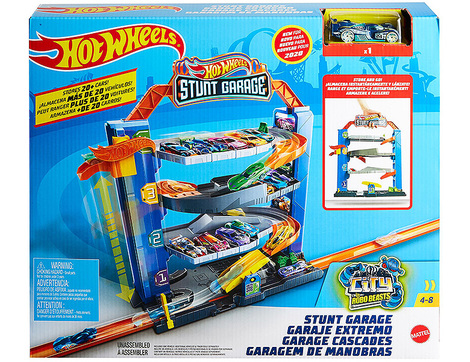 Hot Wheels Stunt Garage Play Set - GNL70