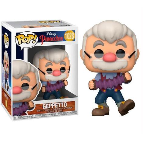 POP!Disney Pinocchio - Geppetto with Accordion #1028#