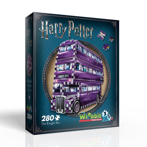 Puzzle 3D The Knight Bus - W3D0507