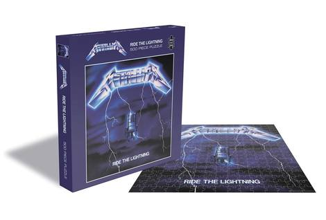 Metallica Puzzle Ride the Lightning 500pieces - PHRSAW015PZ