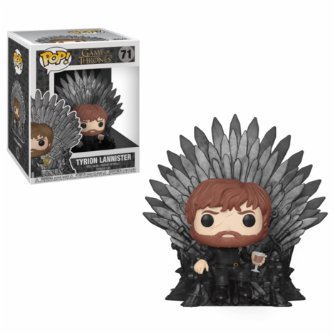 POP! Φιγούρα Vinyl Tyrion Sitting on Throne  #71# (Game of Thrones)