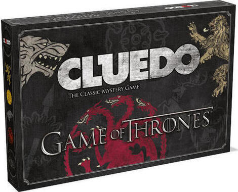Cluedo Game of Thrones Edition  - (WIMO-027410)