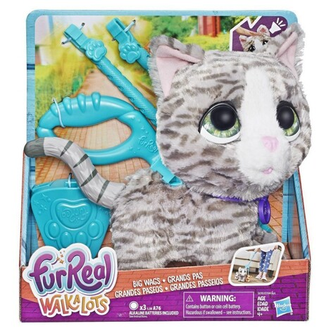 Furreal Walkalots Big Wags, Kitty - Γατάκι - E4781