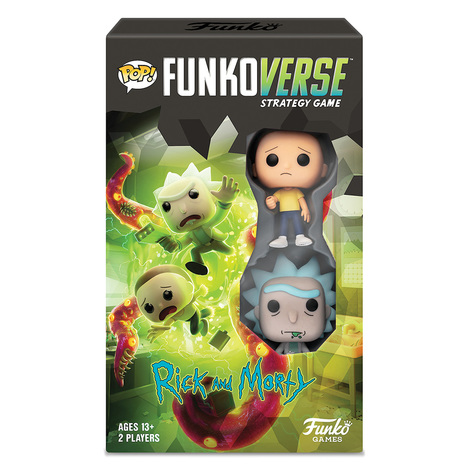 Funkoverse Strategy Game Rick and Morty - 050520