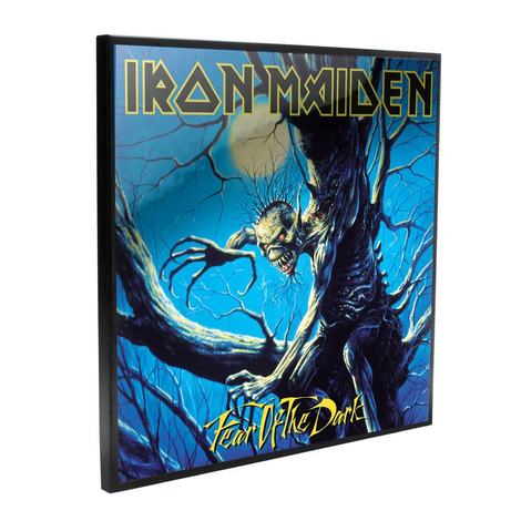 Iron Maiden Crystal Clear Picture Fear of the Dark 32 x 32 cm - NEMN-B4393M8
