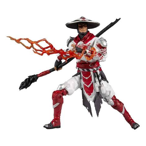 Mortal Kombat 11 Action Figure Raiden Bloody 18 cm - MCF11022-7