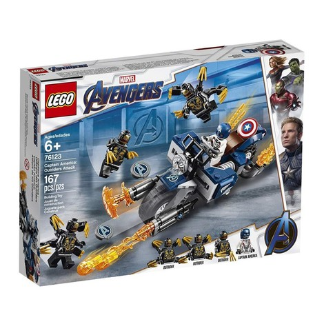 Marvel Super Heroes Captain America: Outriders Attack - 76123