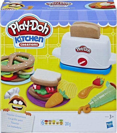 Play-Doh Kitchen Creations Φρυγανιέρα - E0039