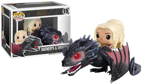 POP! Rides Game Of Thrones - Daenerys & Drogon 18cm #15#