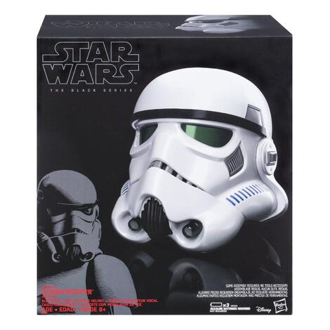 Star Wars Rogue One Black Series Electronic Voice Changer Helmet Imperial Stormtrooper - B9738