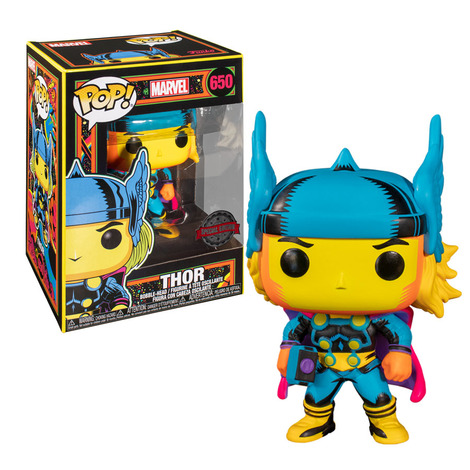 POP! Φιγούρα Vinyl Thor Black Light Exclusive #650